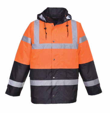 Portwest hi-vis two tone traffic jacket S467